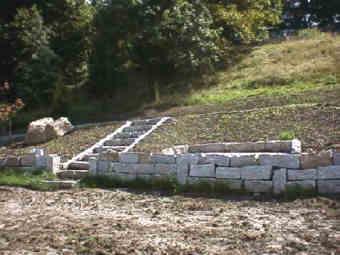Hangbefestigung - Gartengestaltung mit granitsteinen ...